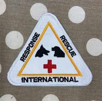 Response Rescue International Embroidered Badge